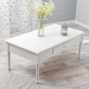 Table basse Mila Blanche