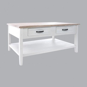 Table basse Damian Blanche