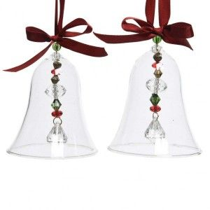 Lot de 2 clochettes Annuit Rouge