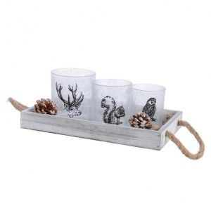 Coffret photophore Faune Naturel