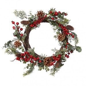 Couronne de Noël Brocéliande