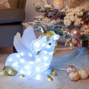 Unicornio luminoso Chipie Blanco frío 60 LED