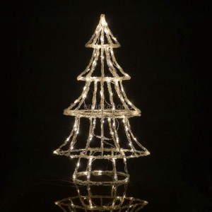Árbol luminoso Blanco cálido 110 LED