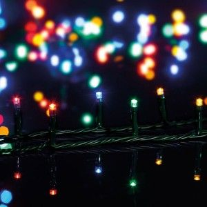 Ghirlanda luminosa Musicale Multicolore 100 LED