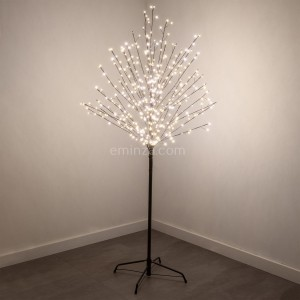 LED Baum Kirsche Copper H150 cm Warmweiß