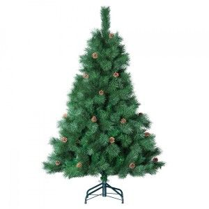 Sapin artificiel de Noël Morning H180 cm Vert