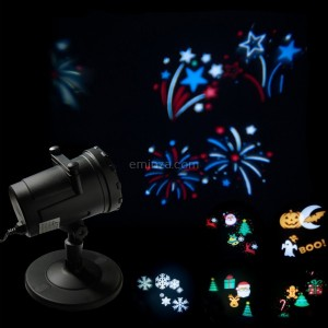 Proyector Multi estampados Multicolor 4 LED