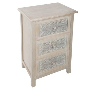 Commode 3 tiroirs Hina Naturel