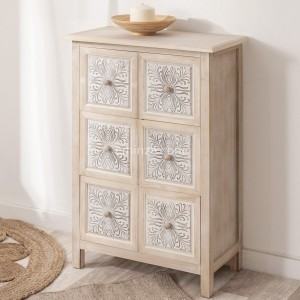 Commode 6 laden Hina Naturel