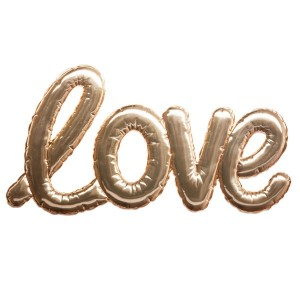 Sticker Love Oro