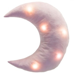 Coussin LED Lune Rose