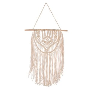Tissage mural 1 barre Folk Beige