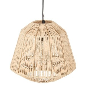 Suspension Corde Ethnik (29 cm) Beige