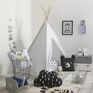 Tipi Twin Grau