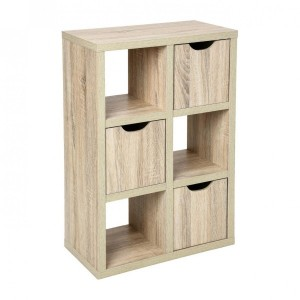 Mueble con casillas Bivoak Natural