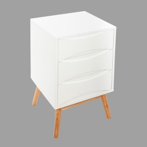 Table de chevet Aban Blanche
