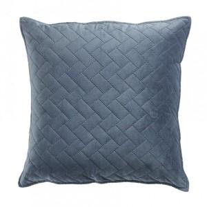 housse de coussin 60 cm bellanda bleu d co textile eminza. Black Bedroom Furniture Sets. Home Design Ideas