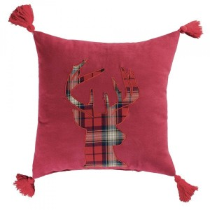 Cuscino (40 cm) Scottish Rosso