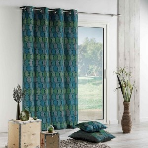 Cortina semi opaca  (140 X 260 cm) Winter Green Azul