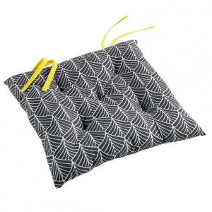 Coussin de chaise Modern Style Jaune
