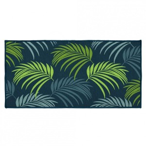 Tapis multi-usage (115 cm) Blue Vegetal Bleu