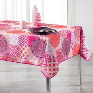 Nappe rectangulaire (L240 cm) Flamenco Rose