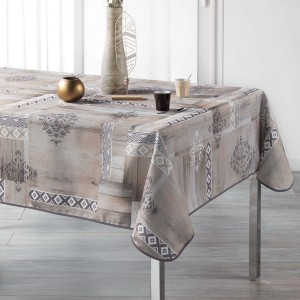 Nappe rectangulaire (L240 cm) Ethnic Wood