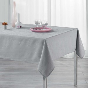 Nappe rectangulaire (L240 cm) Filiane Gris