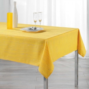 Mantel rectangular (L240 cm) Filiane Amarillo