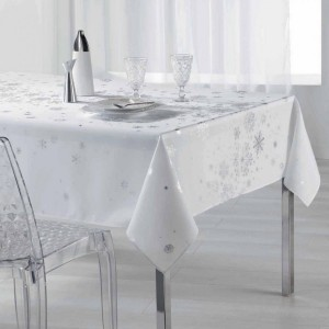 Nappe rectangulaire (L300 cm) Constellation Blanc
