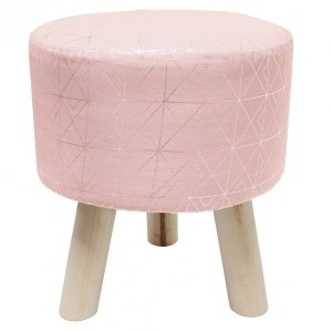Tabouret Quadris Rose