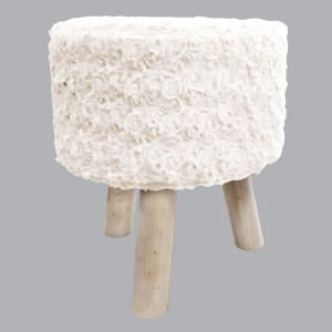 Hocker Himalaya Naturfarben