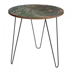 Table d'appoint Palmier Verte