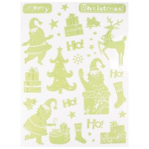 Stickers phosphorescents Ho Ho Ho!!!!