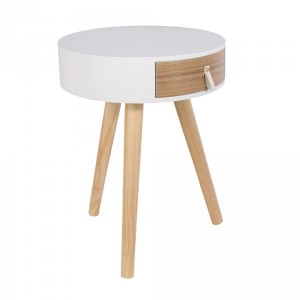 Table de chevet Nora Blanc