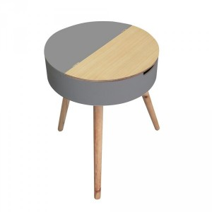 Table coffre Ilyana Grise