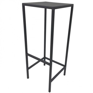 Lot de 2 tabourets de bar Black Noir