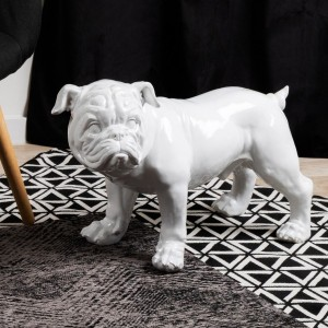 Dogo Inglés decorativo Blanco