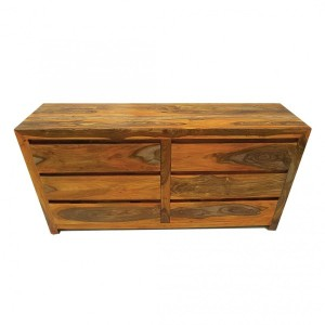 Commode Malmo Naturel 6 tiroirs