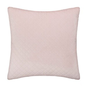 Coussin velours (40 cm) Dolce Rose clair