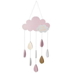 Mobile Nuage Rose