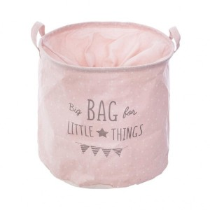 Bac de rangement Canvas Bag Rose