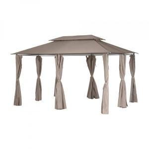 Tonnelle, Pergola, et toile de toit pour rester à l\'ombre - Eminza