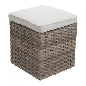 Hocker vierkant Rhodes - Naturel