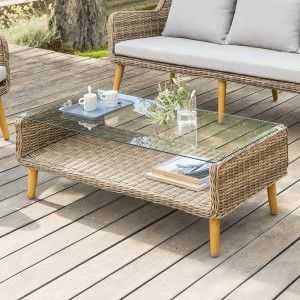 Table basse Baltika - Naturel