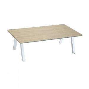 Table basse de jardin Barcelone - Blanc