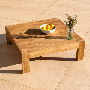 Table basse rectangulaire Borneo - Naturel