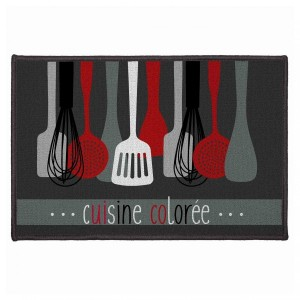 Tapis multi-usage (60 cm) Cuisinette Rouge