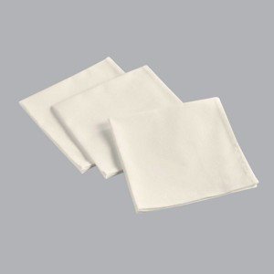 Lot de 3 serviettes Aubeline Naturelles
