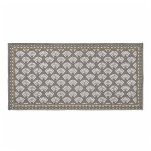 Tapis multi-usage (115 cm) Art déco chic Gris